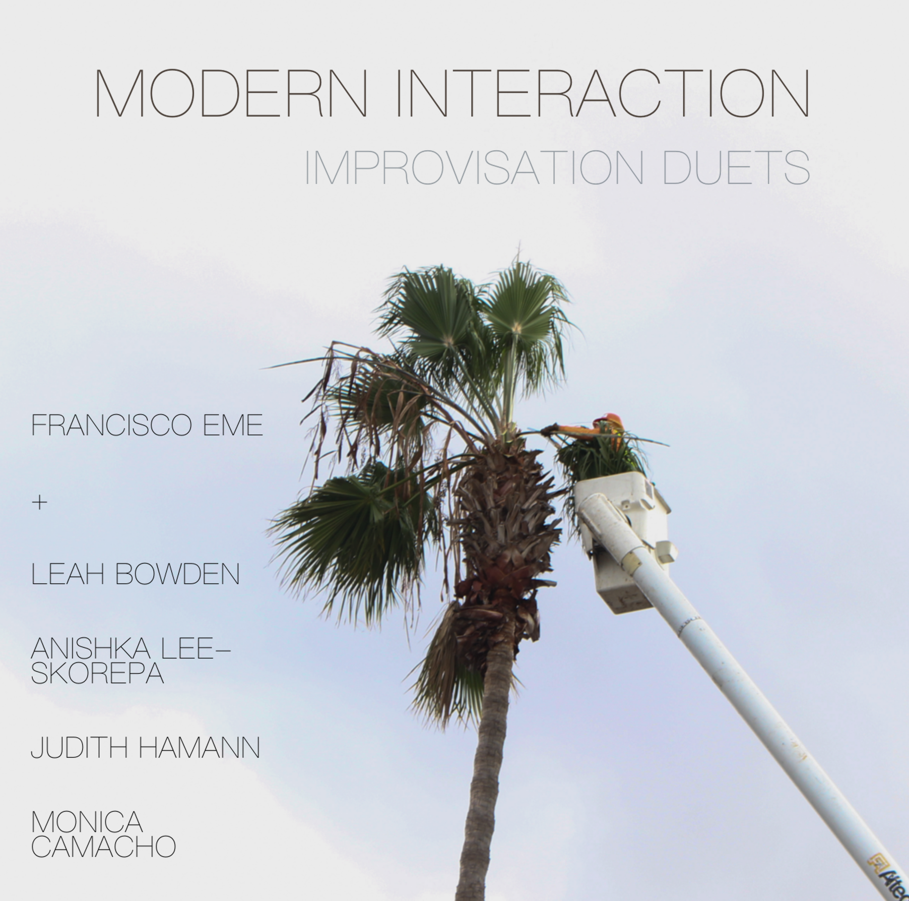 modern interaction cover